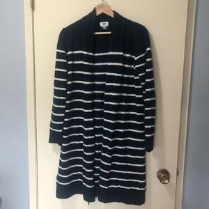 2/$20 🦋 Old Navy Duster Cardigan Striped Open